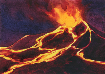 -Volcano 2- by RiEile