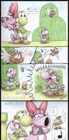 Comm: Shelly's Uncomfortable Encounter by Boltonartist