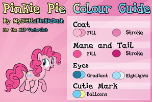 Pinkie Pie Colour Guide by Atmospark