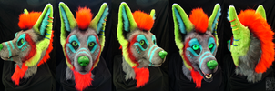 Decon fursuit head by FarukuCostumes