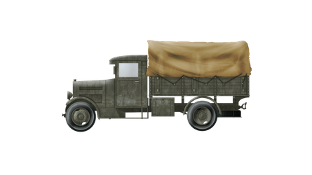 Supply Truck - Polski Fiat 621 L (Covered) by Escodrion