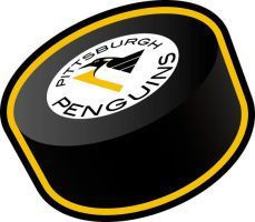 Pittsburgh Penguins Puck by shane613