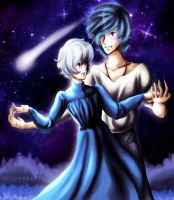 Howl and Sophie by mistysteel