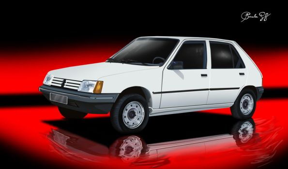 Peugeot 205 gl by daftdance