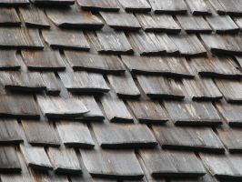 00067 - Thick Wooden Roof Shingles by emstock