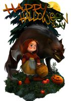 `Red Riding Hood` by steamey