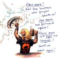 Thor doodle by Raenyras