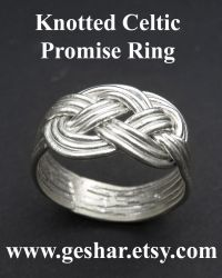 Knotted Ring by GeshaR