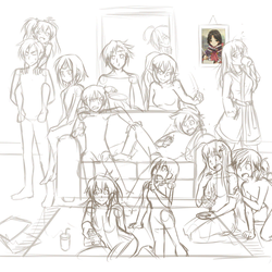 Evening with the Elgang Redraw - Progress GIF by hermengarde