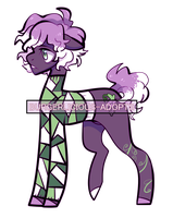 [CLOSED] Auction: Grape Fizzle by Burgerlicious-Adopts