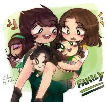 Family ( Colored Version )  by riukime