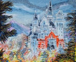 Neuschwanstein by LauraHolArt