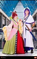 Sinbad and Kougyoku - Magi by Elffi