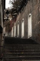 Stairs to Prague castle III by veruce