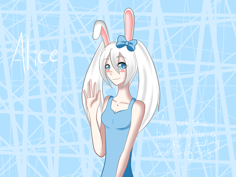 Cooper and Friends fanart - Alice by DolceMelodia