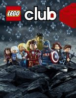 Avengers Age of Ultron Lego Club Magazine cover by moleism