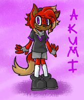 Akumi The Wolf by sleuthingLicorice
