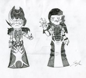 Inktober #31 Magisters by DamaXion