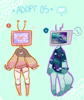 TV Head Adopts (closed) by gh0stbun