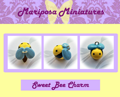Sweet Bee Charm by Lilyanora