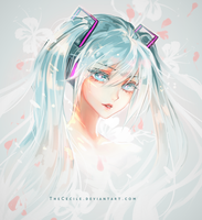 Happy 10th Anniversary Hatsune Miku (+ SpeedPaint) by TheCecile