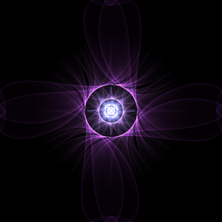 The Strangely Attractive Purple Flower by Aexion