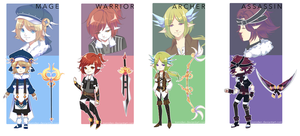[ADOPT 137-140][CHANGED TO SET PR][OPEN] RPG ELVES by tomiden
