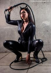 Anime Expo 2018 - Catwoman(PS) 03 by VideoGameStupid