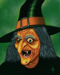 Cackles the Witch by DwaynePinkney