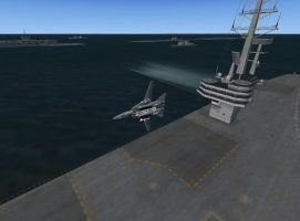 f-14 carrier flyby by cf33092