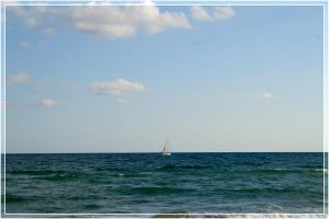 sail boat. by steeerne