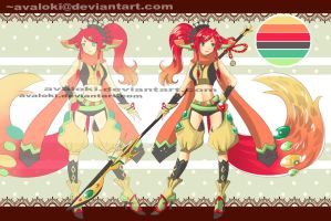 Adopt 2-Jade Fox (Auction) [CLOSE] by Avaloki
