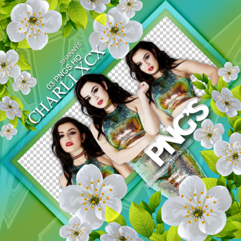 Pack Png 679 - Charli XCX by worldofpngs