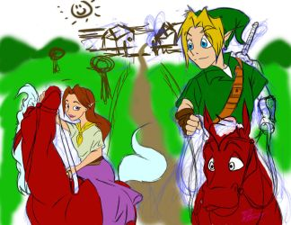 Malon and Link Base Colours by Rob-Hutch