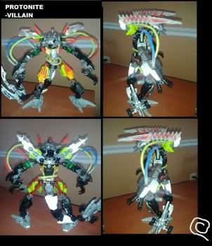 my hero factory moc PROTONITE by jeticer