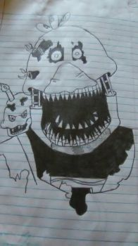 NightMare Chica by familyslender