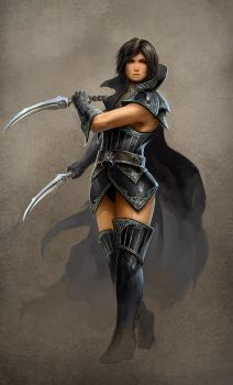 Dagger Lady by HBDesign