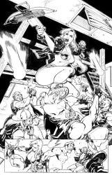 RED SONJA - shooting arrows! - Full page by CarlosGomezArtist