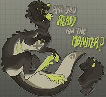 [4] GRABBYMONSTER Auction - TRUE MONSTER [CLOSED] by Tsukibahara