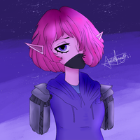 Random Drawing: Trash Cyborg Remastered by LoskaNumbNutsG4