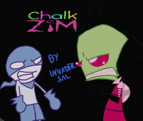 ChalkZIM-Cover by InvaderSal