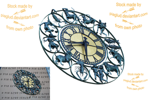 Horoscope clock by piaglud