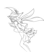 New witch Line art by grim2thbone