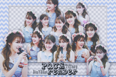 [PACK RENDER #50] 18 PNGS TIFFANY - SNSD by RinYHEnt