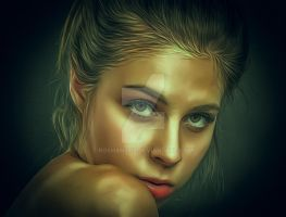 Oil Paint effect by Roshan3312
