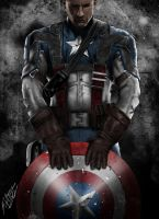 Captain America! by QuaintArt