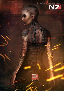 Mass Effect 3 - Jack by patryk-garrett
