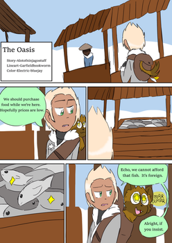 The Oasis - Page 1 by Ninjagoavatar