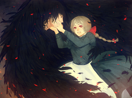 howls moving castle by BottledWishes