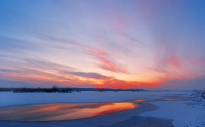 winter_sunset_panorama_0 by victor23081981
